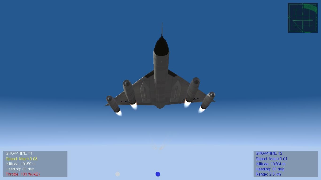 Convair B-58 Hustler - Американские самолеты - Strike